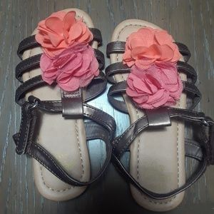 Other - Girls flower gladiator sandal size 9/10